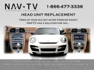 Porsche Aftermarket Radio Upgrade Kit - Nav Tv NTV-KIT210